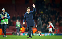 CSKA Moscow Manager Viktar Hancharenka during the UEFA Europa League QF 1st leg match between Arsenal and CSKA Moscow  at the Emirates Stadium, London, England on 5 April 2018. Photo by Andrew Aleksiejczuk / PRiME Media Images.