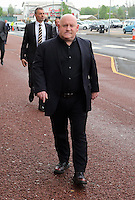 Pictured: Huw Cooze arrives Wednesday 11 May 2016<br /> Re: Awards Dinner 2016, at the Liberty Stadium, south Wales, UK.