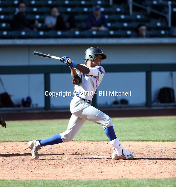 Marcerio Allen takes part in the 2018 Under Armour Pre-Season All-America Tournament at the Chicago Cubs training complex on January 13-14, 2018 in Mesa, Arizona (Bill Mitchell)