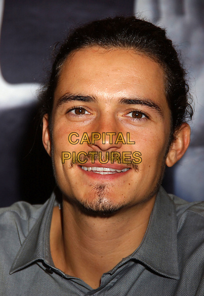 "ORLANDO BLOOM.For ""Elizabethtown"". The 2005 Toronto Film Festival press conferences held at Sutton Place Hotel, Toronto, Canada..September 11tth, 2005.Photo Credit: Laura Farr/Admedia.headshot portrait mustache goatee facial hair.www.capitalpictures.com.sales@capitalpictures.com.© Capital Pictures."