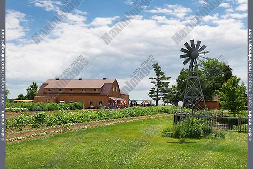 Andrews Scenic Acres farm in Milton, Ontario, Canada