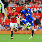 Andy King of Leicester City during the Premier League match at Old Trafford Stadium, Manchester. Picture date: September 24th, 2016. Pic Sportimage