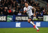 Bolton Wanderers' Josh Magennis <br /> <br /> Photographer Andrew Kearns/CameraSport<br /> <br /> The EFL Sky Bet Championship - Bolton Wanderers v Swansea City - Saturday 10th November 2018 - University of Bolton Stadium - Bolton<br /> <br /> World Copyright © 2018 CameraSport. All rights reserved. 43 Linden Ave. Countesthorpe. Leicester. England. LE8 5PG - Tel: +44 (0) 116 277 4147 - admin@camerasport.com - www.camerasport.com
