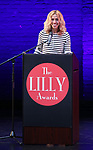 Amanda Green on stage during the 9th Annual LILLY Awards at the Minetta Lane Theatre on May 21,2018 in New York City.