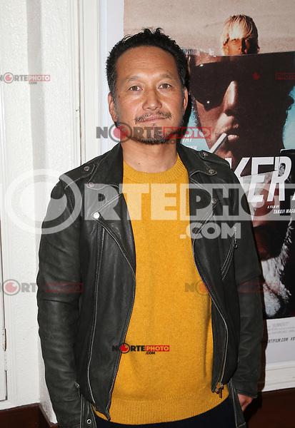 SANTA MONICA, CA - NOVEMBER 1: Takuji Masuda, at the Los Angeles Premiere of documentary Bunker77 at the Aero Theater in Santa Monica, California on November 1, 2017. Credit: Faye Sadou/MediaPunch /NortePhoto.com
