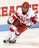 Natalie Flynn (BU - 21) - The Boston College Eagles defeated the Boston University Terriers 3-2 in the first round of the Beanpot on Monday, January 31, 2017, at Matthews Arena in Boston, Massachusetts.