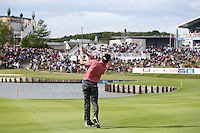 Rafa Cabrera-Bello (ESP) plays to the last during Round Two of the 100th Open de France, played at Le Golf National, Guyancourt, Paris, France. 01/07/2016. Picture: David Lloyd | Golffile.<br /> <br /> All photos usage must carry mandatory copyright credit (&copy; Golffile | David Lloyd)