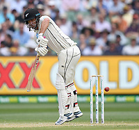 28th December 2019; Melbourne Cricket Ground, Melbourne, Victoria, Australia; International Test Cricket, Australia versus New Zealand, Test 2, Day 3; - Editorial Use