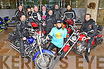 Pictured at the launch of the Big Spin Motorcycle event at the Carlton Hotel Tralee on Monday were front from left David Foley, Eilish Quinlivan and John O'Sullivan. Back from left: David Alder, Dillon Alder, Lauren Treanor, Paddy Hannifin, Kieran Murphy, Carlton Hotel, John Foley, Mick Quinlivan and Ciaran McKenna.
