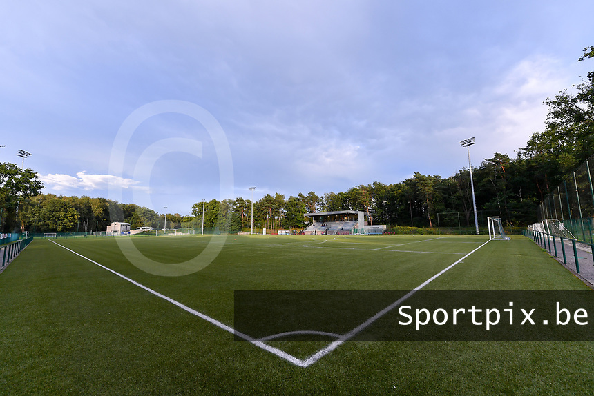 Genk Sport Park pictured before a female soccer game between KRC Genk Ladies and Sporting Charleroi  on the first matchday of the 2020 - 2021 season of Belgian Women's SuperLeague , friday 28 of August 2020  in Genk , Belgium . PHOTO SPORTPIX.BE   SPP   STIJN AUDOOREN