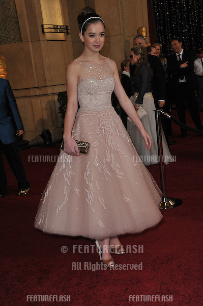 Hailee Steinfeld at the 83rd Annual Academy Awards at the Kodak Theatre, Hollywood..February 27, 2011  Los Angeles, CA.Picture: Paul Smith / Featureflash