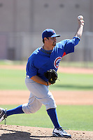 John Mincone, Chicago Cubs 2010 extended spring training..Photo by:  Bill Mitchell/Four Seam Images.