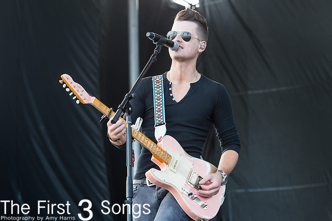 Chase Bryant performs onstage during The Tortuga Music Festival in Fort Lauderdale, Florida.