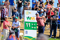 Harris English (USA) on the 11th tee during the 2nd round of the Waste Management Phoenix Open, TPC Scottsdale, Scottsdale, Arisona, USA. 01/02/2019.<br /> Picture Fran Caffrey / Golffile.ie<br /> <br /> All photo usage must carry mandatory copyright credit (© Golffile | Fran Caffrey)