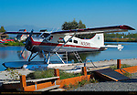 Air Madura Float Plane, DeHavilland DHC-2 Beaver STOL Bush Plane, Anchorage, Alaska
