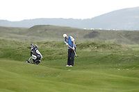 Alan Thomas (Dungarvan) on the 6th during round 2 of The West of Ireland Amateur Open in Co. Sligo Golf Club on Saturday 19th April 2014.<br /> Picture:  Thos Caffrey / www.golffile.ie