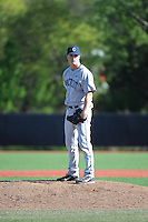 University of Connecticut pitcher Jerry Elsing (22) during game against the Rutgers University Scarlet Knights at Bainton Field on May 3, 2013 in Piscataway, New Jersey. Connecticut defeated Rutgers 3-1.      . (Tomasso DeRosa/ Four Seam Images)