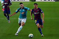 16th July 2020; Camp Nou, Barcelona, Catalonia, Spain; La Liga Football, Barcelona versus Osasuna; Sergi Roberto and Moncayola