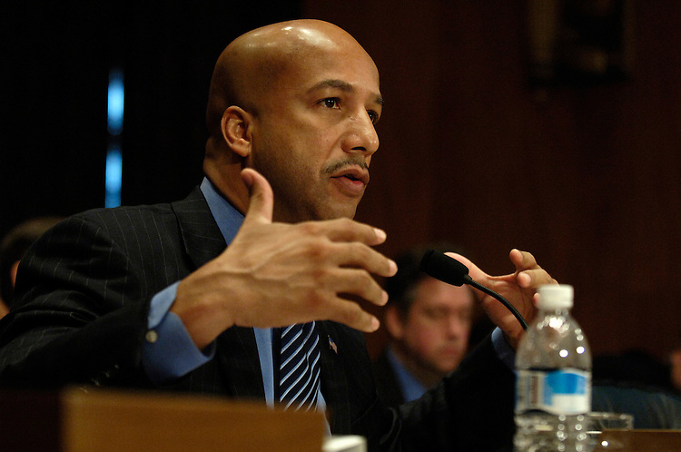 "New Orleans Mayor Ray Nagin testifies before the full committee hearing on ""Hurricane Katrina: Managing the Crisis and Evacuating New Orleans."".."