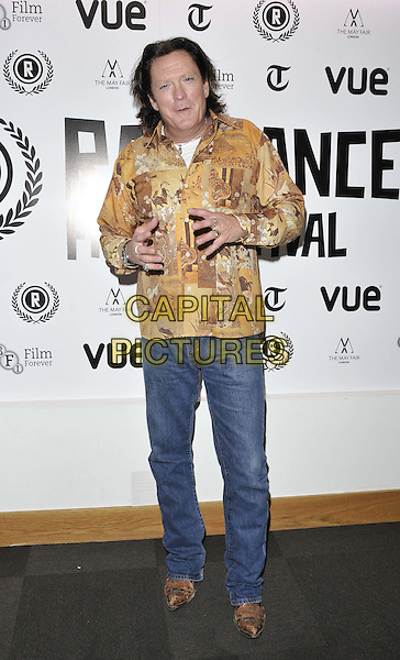 LONDON, ENGLAND - SEPTEMBER 29: Michael Madsen attends the &quot;The Ninth Cloud&quot; UK film premiere, Raindance film festival, Vue Piccadilly cinema, Lower Regent St., on Monday September 29, 2014 in London, England, UK. <br /> CAP/CAN<br /> &copy;Can Nguyen/Capital Pictures