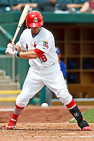 Andrew Brown (18) April 20th, 2010; Midland Texas Rockhounds vs The Springfield Cardinals at Hammons Field in Springfield Missouri.  The Cardinals won in the 9th inning breaking a 1-1 tie.