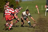 Counties Manukau Premier rugby game between Karaka & Manurewa played at the Karaka Domain on July 5th 2008..Karaka won 22 - 12.
