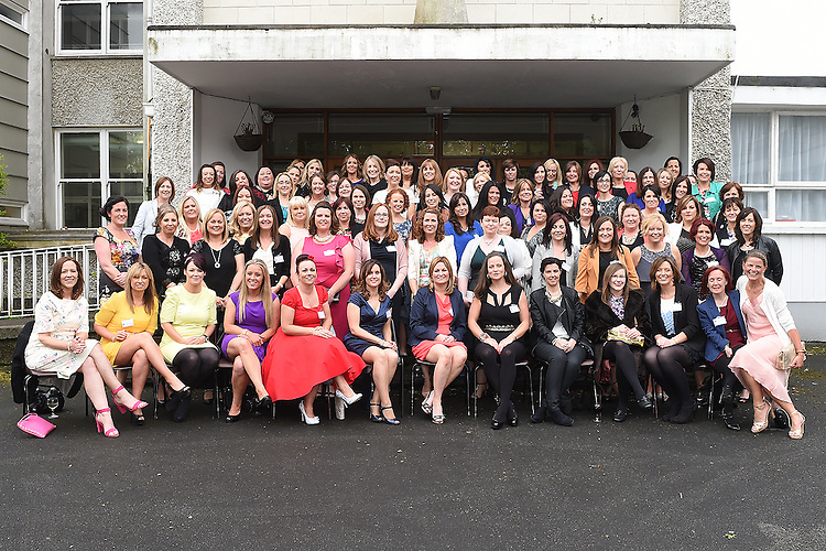 The Class of 1994 reunion at Our Lady's College Greenhills. Photo:Colin Bell/pressphotos.ie