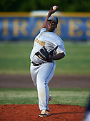 Lakewood Spartans pitcher Sean Thornton (14) during a game against the Boca Ciega Pirates at Boca Ciega High School on March 2, 2016 in St. Petersburg, Florida.  (Copyright Mike Janes Photography)