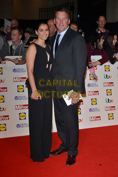 guests<br /> The Daily Mirror's Pride of Britain Awards arrivals at the Grosvenor House Hotel, London, England.<br /> 7th October 2013<br /> full length dress black suit<br /> CAP/PL<br /> &copy;Phil Loftus/Capital Pictures