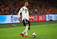 Thilo Kehrer (Deutschland Germany) - 24.03.2019: Niederlande vs. Deutschland, EM-Qualifikation, Amsterdam Arena, DISCLAIMER: DFB regulations prohibit any use of photographs as image sequences and/or quasi-video.