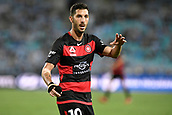 9th December 2017, ANZ Stadium, Sydney, Australia; A League football, Western Sydney Wanderers versus Sydney FC; Wanderers midfielder Alvaro Cejudo