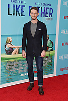 HOLLYWOOD, CA - JULY 31: Zach Appleman arrives at the Premiere Of Netflix's 'Like Father' at ArcLight Hollywood on July 31, 2018 in Hollywood, California.<br /> CAP/ROT/TM<br /> &copy;TM/ROT/Capital Pictures