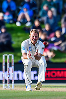 Neil Wagner of the Black Caps during Day 3 of the Second International Cricket Test match, New Zealand V England, Hagley Oval, Christchurch, New Zealand, 1st April 2018.Copyright photo: John Davidson / www.photosport.nz