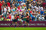 Australia play Canada on Day 2 of the 2011 Cathay Pacific / Credit Suisse Hong Kong Rugby Sevens, Hong Kong Stadium. Photo by The Power of Sport Images
