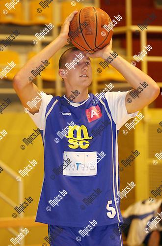 2010-08-17 / Seizoen 2010-2011 / Basketbal / Sint Jan / Bram Raes..Foto: mpics