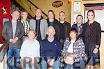 Denis Doolan, Mill Road Killarney celebrated his 70th birthday with his family in Lord Kenmares restaurant on Saturday night front row  l-r: Kathleen and Denis Doolan, Rosemary Falvey. Back row: Padraig Doolan, Fionnuala, Denis, Kate, Mike Doolan, john Falvey and Catriona Doolan