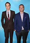 Jim Parsons and David Javerbaum attends the Broadway Opening Night after party for 'An Act of God'  at Studio 54 on May 28, 2015 in New York City.