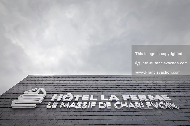 Hotel La Ferme Le Massif de Charlevoix is pictured in Baie St-Paul (Quebec, Canada) Friday August 31, 2012.