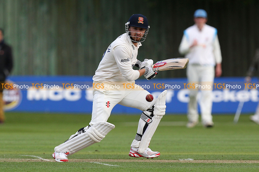 Jaik Mickleburgh in batting action for Essex - Cambridge MCCU vs Essex CCC - Pre-Season Friendly Cricket Match at Fenners Ground, Cambridge - 08/04/14 - MANDATORY CREDIT: Gavin Ellis/TGSPHOTO - Self billing applies where appropriate - 0845 094 6026 - contact@tgsphoto.co.uk - NO UNPAID USE