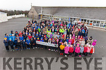 Listellick National School launched their 'Walk-a-Marathon' challenge on Monday with  Jimmy Deenihan, Chairperson of the Kerry Recreation and Sports Partnership.