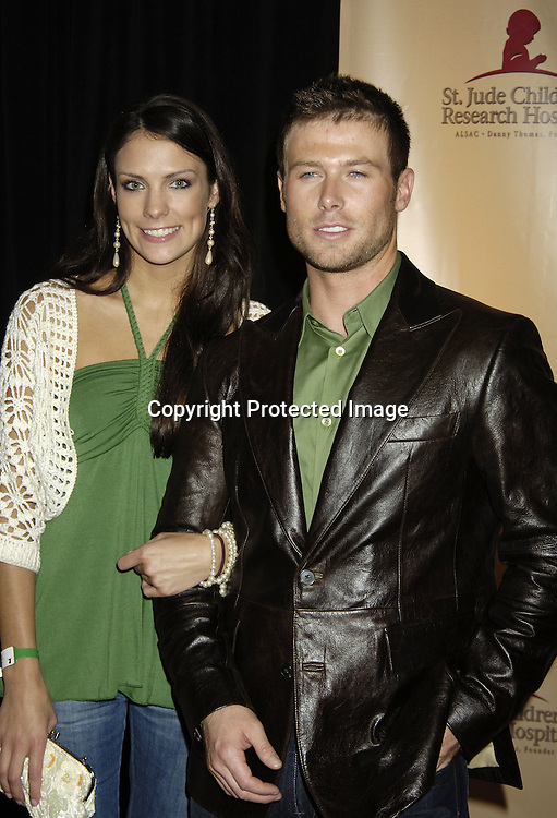 Jacob Young and Cristen Steward ..at the 11th Annual Daytime Television Salutes St. Jude Children's Research Hospital benefit hosted by Martha Byrne on October 14, 2005 at The New York Marriott Marquis Hotel. ..Photo by Robin Platzer, Twin Images