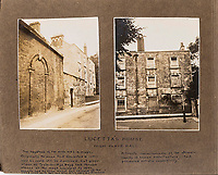 BNPS.co.uk (01202 558833)<br /> Pic: ForumAuctions/BNPS<br /> <br /> 'Lucettas House' in the heart of Dorchester - In the famous novel Lucetta was to be Henchards 2nd wife, before the untimely return of his first.<br /> <br /> Extraordinary photo album reveals Thomas Hardy as personal tour guide around his most famous novel.<br /> <br /> A personalised photograph album documenting a guided tour of 'Casterbridge' that novelist Thomas Hardy gave a literary friend has emerged almost 100 years later.<br /> <br /> The famous author showed playwright John Drinkwater the real-life locations that inspired him to write the classic 1886 novel The Mayor of Casterbridge.<br /> <br /> Mr Drinkwater took photographs of various venues that feature prominently in the novel.<br /> <br /> He also captured some of the last images of Hardy who died two years later.