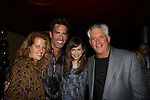 "One Life To Live Matt Walton ""Elijah Clarke"" and wife Alecia Hurst (L), Lisa Goldberg and Gregory Jbara at The Canal Room as it celebrates its 10th Anniversary on September 16, 2013 at ""Back to the 80s Show with Jessie's Girl"" in New York City, New York. (Photo by Sue Coflin/Max Photos)"