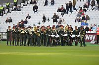 Band during West Ham United vs Burnley, Premier League Football at The London Stadium on 3rd November 2018