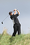 Day one of the Irish PGA championship at Seapoint Golf Club, Gareth McShea, Edmonstown on the 10th tee...Picture Jenny Matthews/Newsfile.ie