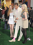 David Hasselhoff and daughters at The Universal Pictures' World Premiere of HOP held at Universal City Walk in Universal City, California on March 27,2011                                                                               © 2010 Hollywood Press Agency