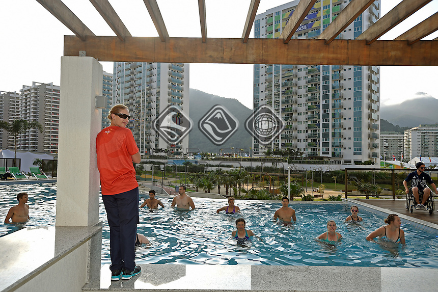 Athlete Village / Australian HQ facilities<br /> 2016 Paralympic Games - RIO Brazil<br /> Australian Paralympic Committee<br /> Rio Friday 2 September 2016<br /> &copy; Sport the library / Jeff Crow