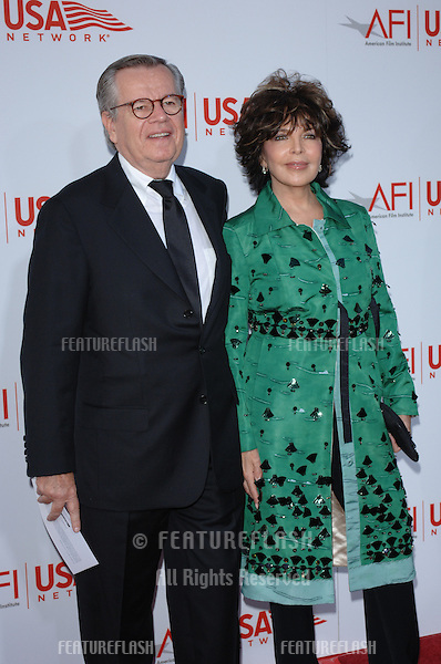Songwriter CAROLE BAYER SAGER & husband BOB DALY at the AFI Life Achievement Award gala honoring George Lucas..June 9, 2005  Los Angeles, CA..© 2005 Paul Smith / Featureflash