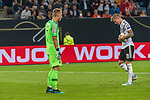 06.09.2019, Volksparkstadion, HAMBURG, GER, EMQ, Deutschland (GER) vs Niederlande (NED)<br /> <br /> DFB REGULATIONS PROHIBIT ANY USE OF PHOTOGRAPHS AS IMAGE SEQUENCES AND/OR QUASI-VIDEO.<br /> <br /> im Bild / picture shows<br /> <br /> Jasper CILLESSEN (Niederlande / NED #01) <br /> Toni Kroos (Deutschland / GER #08) elfmeter zum 2:2 <br /> <br /> während EM Qualifikations-Spiel Deutschland gegen Niederlande  in Hamburg am 07.09.2019, <br /> <br /> Foto © nordphoto / Kokenge