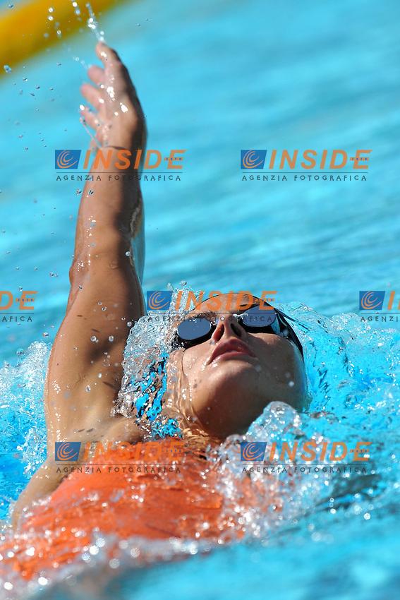 Zsuzsanna Jacobos<br /> 400m Medly Women<br /> Roma 14/6/2013 Piscina del Foro Italico <br /> Nuoto 50mo trofeo Settecolli<br /> Settecolli 50th International swimming trophy <br /> Foto Antonietta Baldassarre Insidefoto